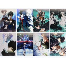 Psycho pass anime posters(8pcs a set)