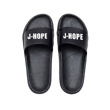 BTS J-HOPE star shoes slippers a pair