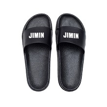 BTS JIMIN star shoes slippers a pair