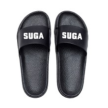 BTS SUGA star shoes slippers a pair