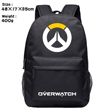 Overwatch game backpack bag