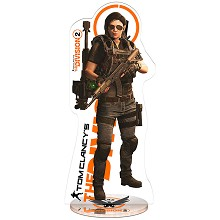 The Division game acrylic figure