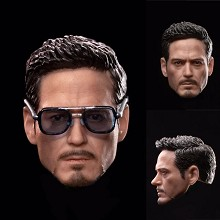 Iron Man Tony Stark head figure