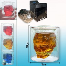 Iron Man glass cup