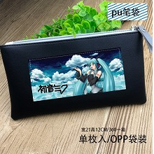 Hatsune Miku anime pen bag pencil bag