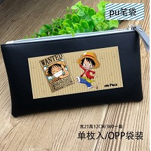 One Piece anime pen bag pencil bag