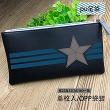 Captain America pen bag pencil bag