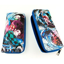 Demon Slayer anime long wallet
