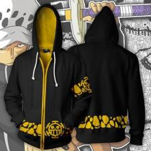 One Piece Law 3D printing hoodie sweater cloth