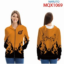 Naruto anime long sleeve hoodie cloth