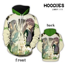 The Legend of LuoXiaohei anime hoodie cloth
