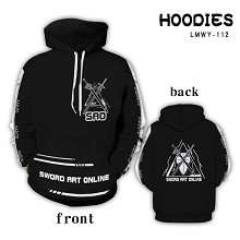 Sword Art Online anime hoodie cloth