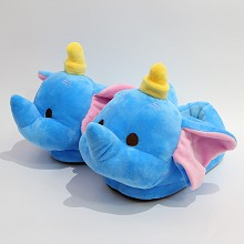 12inches Dumbo plush shoes slippers a pair