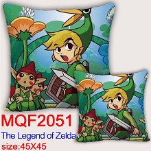 The Legend of Zelda two-sided pillow