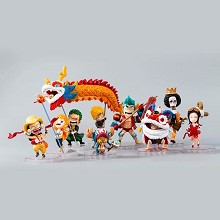 One Piece figures set(10pcs a set)