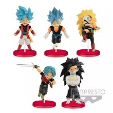 Dragon Ball anime figures set(5pcs a set)