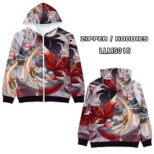 Inuyasha anime long sleeve hoodie sweater cloth