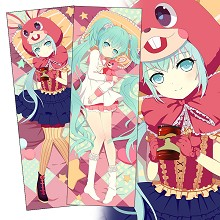 Hatsune Miku anime two-sided long pillow